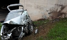 Man killed after crashing into bridge on Mahogany Road, Pinetown KZN